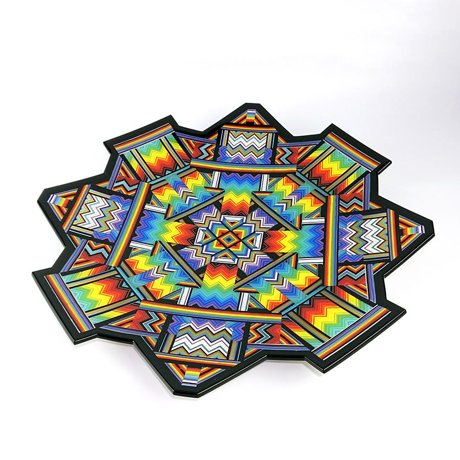 'Singularity' 54 cm x 5 cm  rainbow portal charger