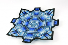'Singularity' Blue portal charger 43 cm x 4 cm