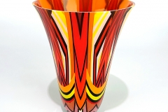 Red, Orange,Yellow vase