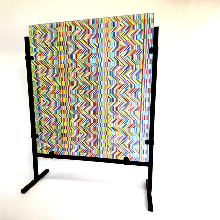 geometric-panel-on-stand