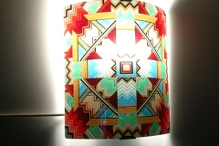 wall light glass mandala 2017