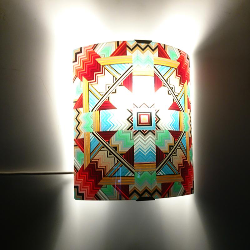 wall light glass mandala 2017